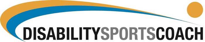 disability sports coach logo