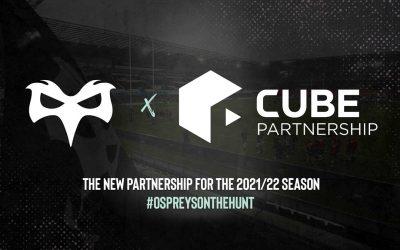 Cube Partnership Announced As Ospreys' New Ecommerce Partner
