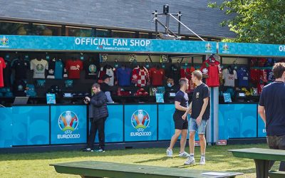 Cube takes a look back at its European 'Summer of Sport' Event Structures