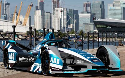 Sport's Most Sustainable Temporary Modular Buildings Enhance Formula E's Green Credentials At London E-Prix